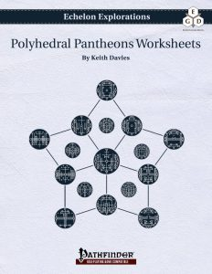 Echelon Explorations: Polyhedral Pantheons Worksheets cover