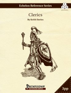 Echelon Reference Series: Cleric (3pp+PRD) cover