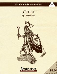 Echelon Reference Series: Cleric (PRD-Only) cover