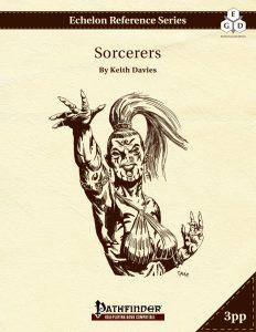 Echelon Reference Series: Sorcerer (3pp+PRD) cover