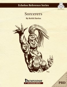 Echelon Reference Series: Sorcerer (PRD-Only) cover