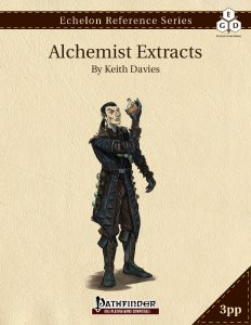 Echelon Reference Series: Alchemist Extracts cover