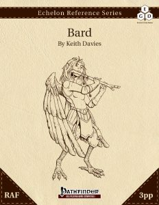 Echelon Reference Series: Bard (3pp+PRD, RAF) cover
