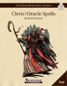 Echelon Reference Series: Cleric Spells cover
