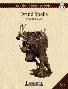 Echelon Reference Series: Druid Spells cover