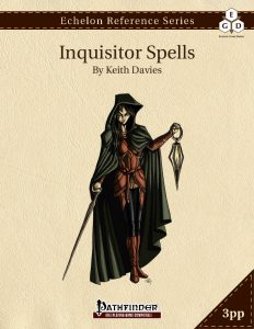 Echelon Reference Series: Inquisitor Spells cover