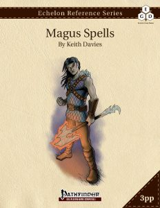 Echelon Reference Series: Magus Spells cover