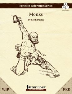 Echelon Reference Series: Monk (PRD-Only, WIP) cover