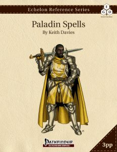 Echelon Reference Series: Paladin Spells cover