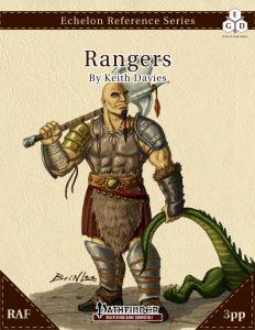 Echelon Reference Series: Ranger (3pp+PRD, RAF) cover