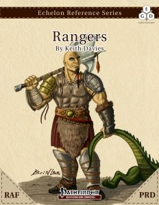 Echelon Reference Series: Ranger (PRD-Only, RAF) cover