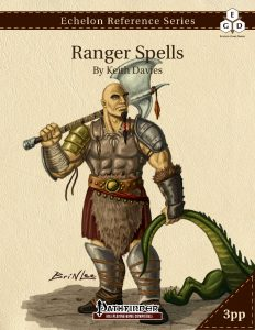 Echelon Reference Series: Ranger Spells cover