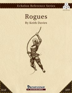 Echelon Reference Series: Rogue (3pp+PRD, RAF) cover