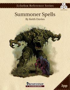 Echelon Reference Series: Summoner Spells cover