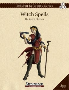 Echelon Reference Series: Witch Spells cover