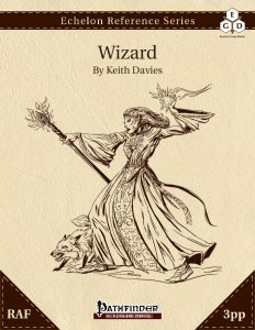 Echelon Reference Series: Wizard (3pp+PRD, RAF) cover
