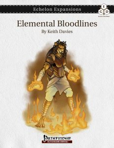Echelon Expansions: Elemental Bloodlines cover