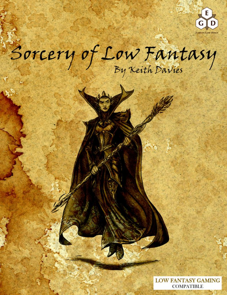 Sorcery of Low Fantasy cover